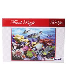 Frank Underwater World Puzzle Multicolour - 500 Pieces