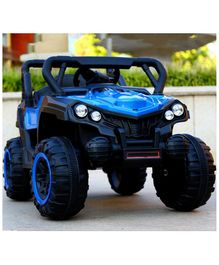 GetBest 12V Battery Operated Roadster Ride On Jeep - Blue