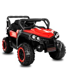 GetBest 12V Battery Operated Roadster Ride On Jeep - Red