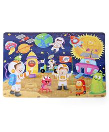 Frank In Space Jigsaw Puzzle Multicolour - 24 Pieces