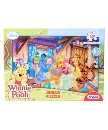 Frank Disney Winnie The Pooh Jigsaw Puzzle Multicolour -250 Pieces