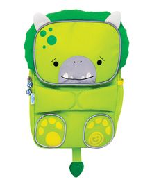 Trunki Toddlepak Backpack Dino Green - 11 inches