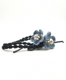 Viaana Flower Rubber Band - Blue