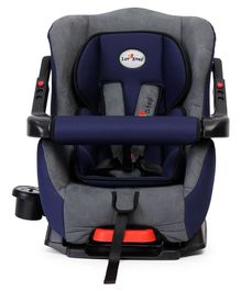1st Step Convertible Car Seat With 5 Point Safety Harness - Blue