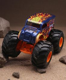 Hotwheels Monster Truck -  Black Blue & Orange
