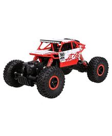 Yamama Play Remote Control Car 4WD Off Road Rock Crawler Vehicle 2.4 GHz- Red