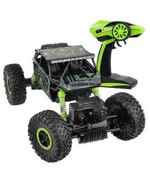 YAMAMA Play Remote Control Car 4WD Off Road Rock Crawler Vehicle 2.4 GHz- Green