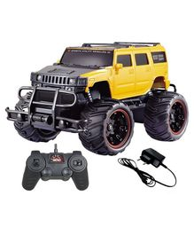 Yamama Off Road Monster Racing Remote Control Car - Yellow