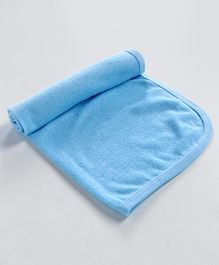 Simple Solid Baby Towel - Sky Blue