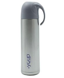 Youp Thermosteel Insulated Flask Grey - 500 ml