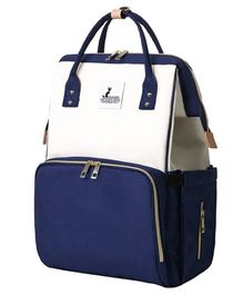 Syga Multi Purpose Diaper Bag - Navy Blue Cream