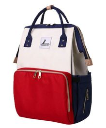 Syga Multi Purpose Diaper Bag - Red Cream