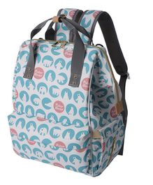 Syga Backpack Style Diaper Bag - Blue