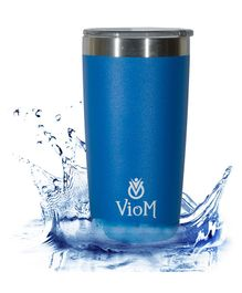 Viom Stainless Steel Flask Blue - 600 ml