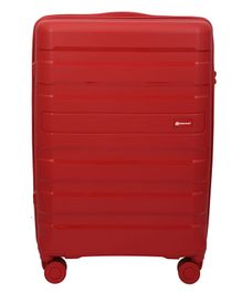 Gamme Balina Hard-Sided Luggage Trolley Bag Red - Height 24 inches