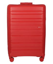 Gamme Balina Hard-Sided Luggage Trolley Bag Red - Height 28 inches
