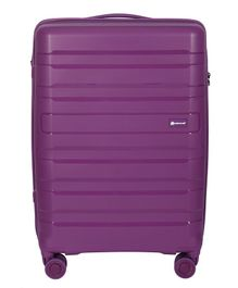Gamme Balina Polypropylene Hardsided Check-in Luggage Bag Purple - 65 cm