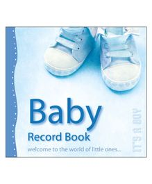Baby Record Book It's A Boy - English