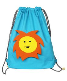 Kadam Baby Giraffe Drawstring Bag - Blue