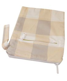 Kadambaby Water Proof Printed Wet Bag - Beige