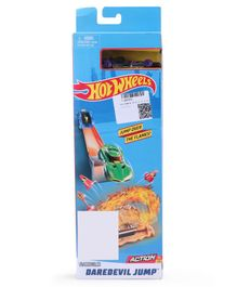 Hot Wheels Blast The Robot Toy Car - Black & Blue