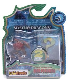 Dreamworks How to Train Your Dragon Mystery Dragons Pack of 2 - Multicolor