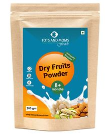Tots And Moms Dry Fruits Powder - 200 gm
