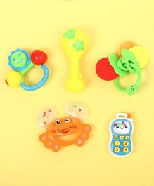 Musical Baby Rattle Pack of 8 - Multicolor
