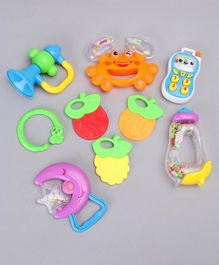 Musical Baby Rattle Pack of 6 - Multicolor