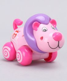 Lion Shaped Wind Up Toy - Pink Purple