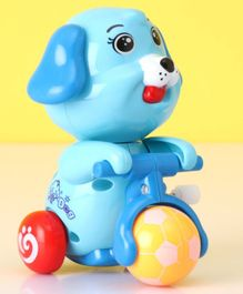 Doggy Shaped Wind Up Toy - Blue