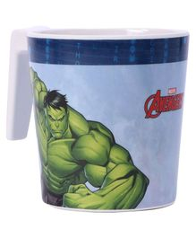 Marvel Avengers Coffee Mug Large Off White & Blue - 320 ml