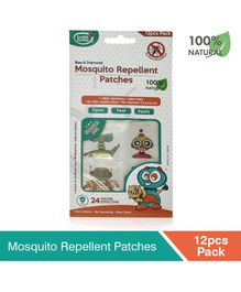 Buddsbuddy Mosquito Repellent Patches - 12 Patches