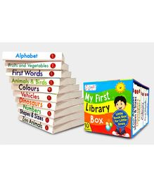My First Library Box Preschool Board Books Set of 10 - English