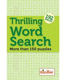 Thrilling Word Search Puzzle Book - English