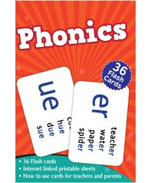 Phonics Flash Cards Box - Pack of 36