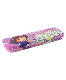 Dora Tin Pencil Box - Pink