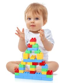 Babyhug Building Block Set Multicolor - 72 Pieces