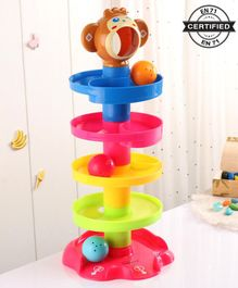 Babyhug Roll Ball Set - Multicolor