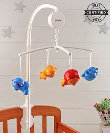Babyhug Musical Cot Mobile  Multicolor - 9 pieces