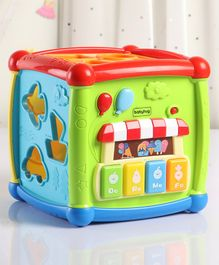 Babyhug Multi Activity Cube - Multicolor
