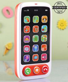 Babyhug Baby Touch Phone - White