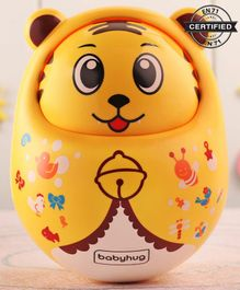 Babyhug Roly Poly Bear Face - Yellow