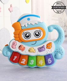 Babyhug Musical Octo Keyboard - Blue