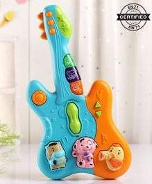 Babyhug Baby Guitar - Blue Orange