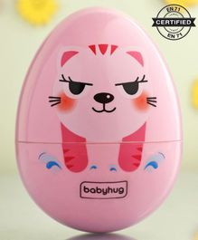 Babyhug Roly Poly Toy Tiger Face - Pink