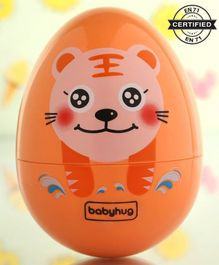 Babyhug Eggzy Roly Poly Toy Tiger Face - Orange