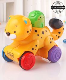 Babyhug Press & Go Tiger Toy - Multicolor