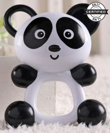 Babyhug Panda Shape Baby Rattle - Black & White