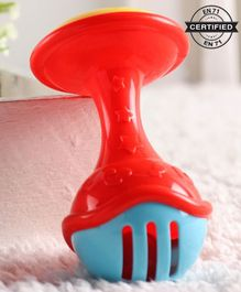 Babyhug Mic Shape Rattle Toy - Red